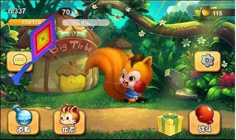 游戏以一只小松鼠为了成为让众人景仰的武者,而踏上了的修炼之路为