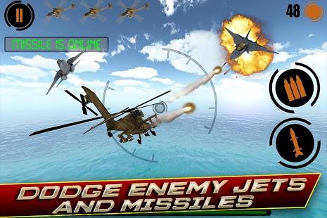 街机式直升机飞行射击