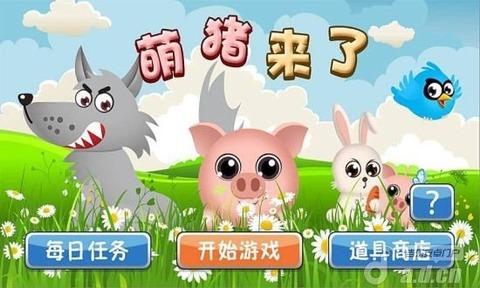 吃货萌猪头像可爱图片