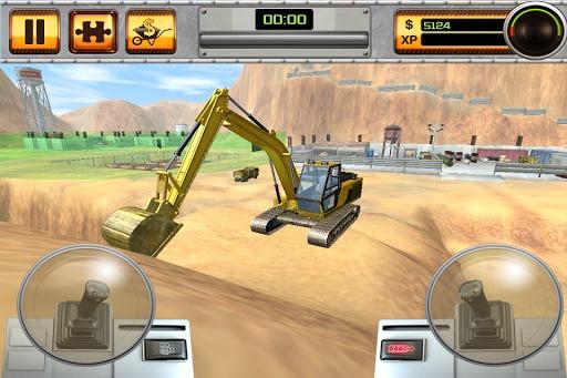 评论 《挖掘机(scoop: excavator)》是一款模拟开挖掘机的休闲游戏.