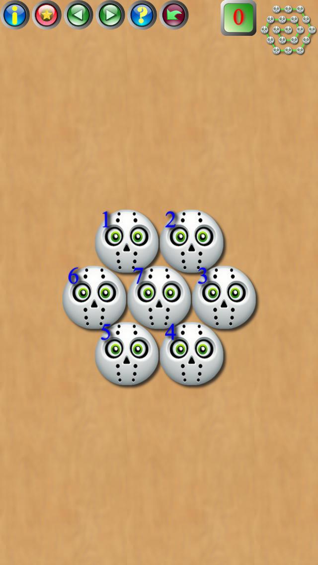 魔球拼图是一种全新在线社交的拼图游戏。游戏包括三角形拼图,正方形拼图,菱形拼图与六边形拼图。拼图的结果的模式包括平行,之字折线形,螺旋形。 在拼图游戏中,魔球可以水平先后移动。在正方形拼图游戏中,魔球还可以上下移动。在三角形拼图,菱形拼图与六边形拼图中魔泡还可以沿60度对角方向与120度对角方向上下移动。 一但玩家正确地完成拼图,则所有魔球都自动连接起来。 玩家可以讲游戏存盘,或打开存盘游戏从新或接着玩。玩家还可以讲游戏电邮给其他朋友玩。玩家收到其他朋友的游戏共享电邮后,点击电邮中的游戏文件附件即可开始玩