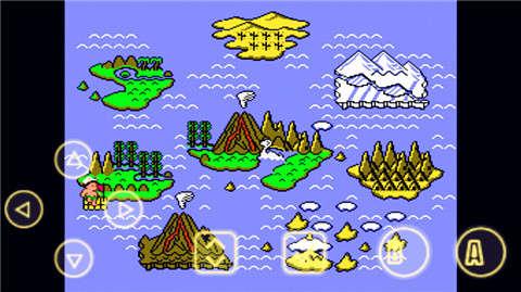 2是一款红白机上的经典动作冒险游戏,背景是日本的无人岛屿,人物可爱