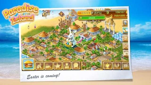 【游戏任务】 - 在天堂岛上建造各种建筑和设施