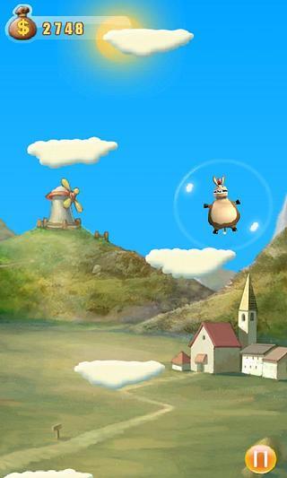 主角是一只非常可爱滑稽的小毛驴