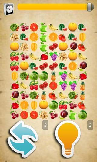 热带水果连连看