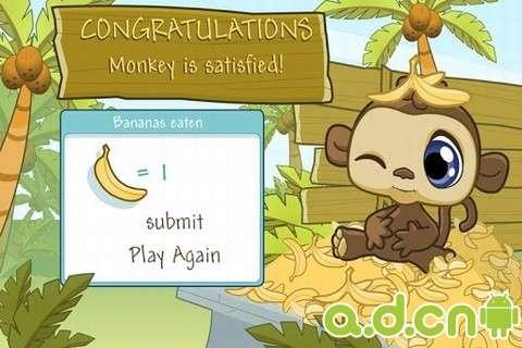 ppt模板可爱猴子