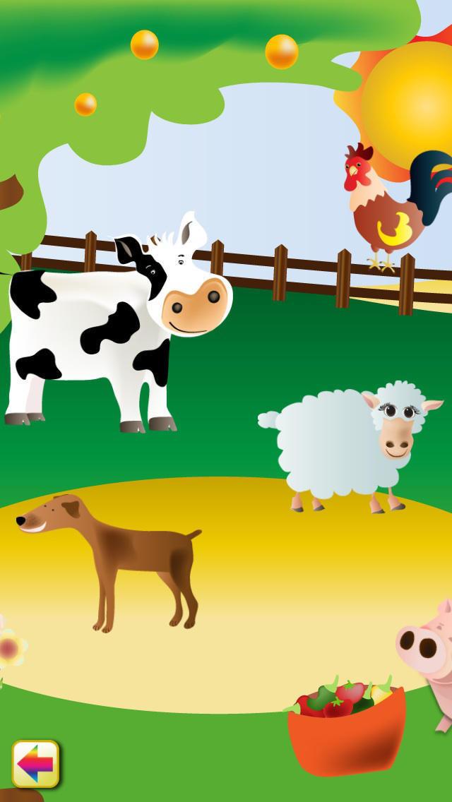 农场动物: 学习并着色 pro
