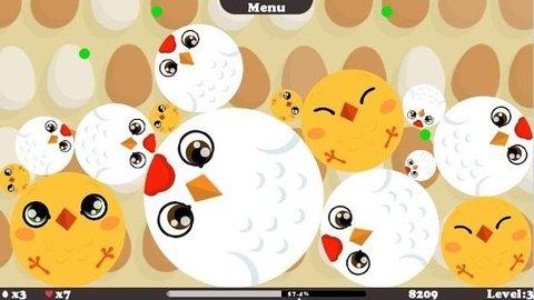 这是一款非常有趣的小游戏,可爱的鸟儿会长大,要让小鸟破壳而出,就要