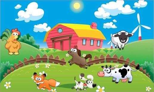 儿童认识动物画