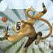 丛林猴子玩跑酷