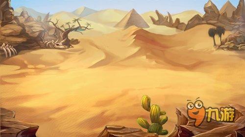 《众神风暴》首度公开游戏原画场景 首轮测试即将开启