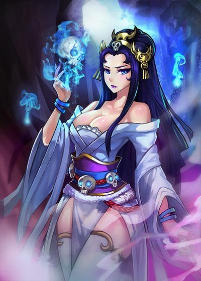 紫霞仙子:一身