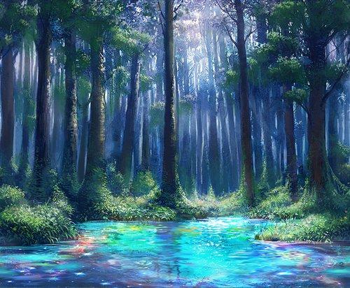 超美风景图片仙境