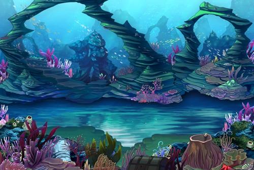 海底组合简笔画