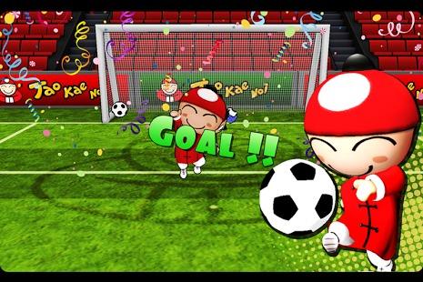 足球守门  手绘素材
