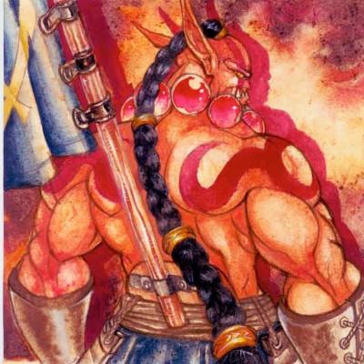 小冰冰传奇 玩家手绘剑圣图集 霸气可爱萌萌哒