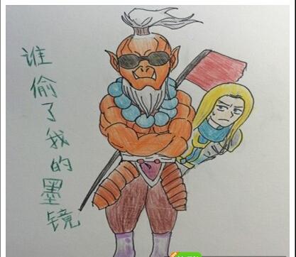 游戏评测 >刀塔传奇剑圣手绘图集锦 剑圣英雄萌萌哒   胖嘟嘟可爱版