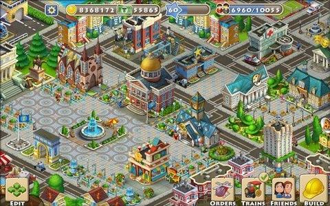 梦想小镇设计图55级展示