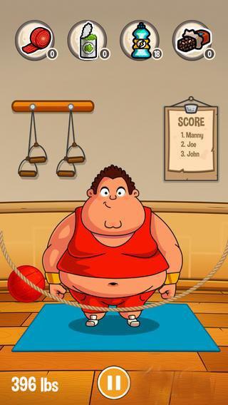 每日游戏一刻(85):胖纸的人生没有希望   这游戏主主角是个可爱的胖子