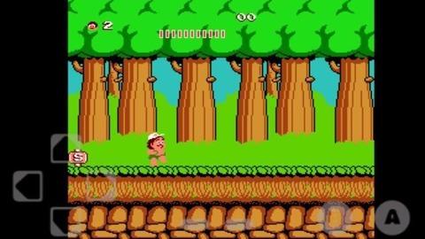 经典任天堂红白机游戏--冒险岛1,一起回忆逝去的童年时光!