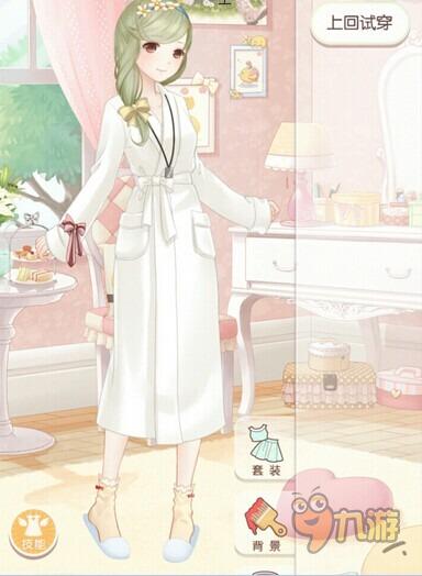 恋爱少女苏苏3s级搭配  奇迹暖暖3-6s级搭配攻略 评审风格:温泉浴衣