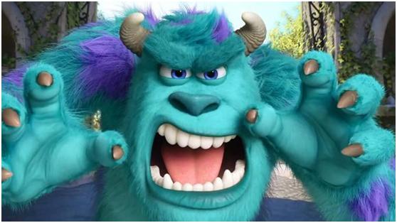 小怪兽也有大梦想 《十万个大魔王》惊吓大师毛怪