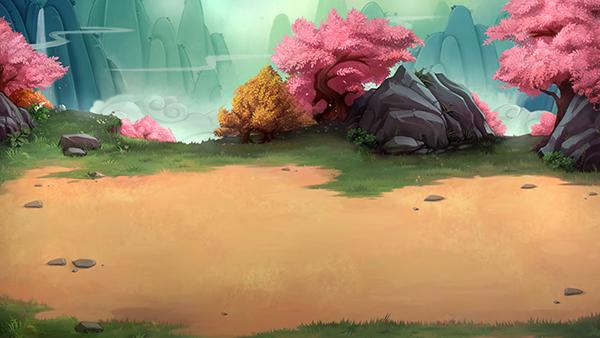 游戏大地场景图片素材
