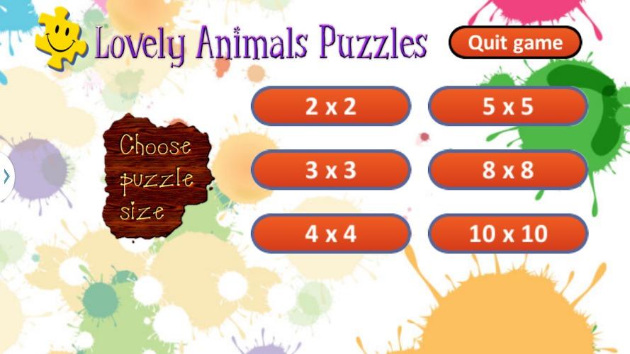 可爱的动物拼图的孩子好玩吗?可爱的动物拼图的孩子游戏介绍