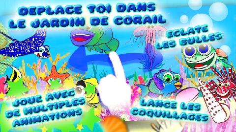 动物的珊瑚花园