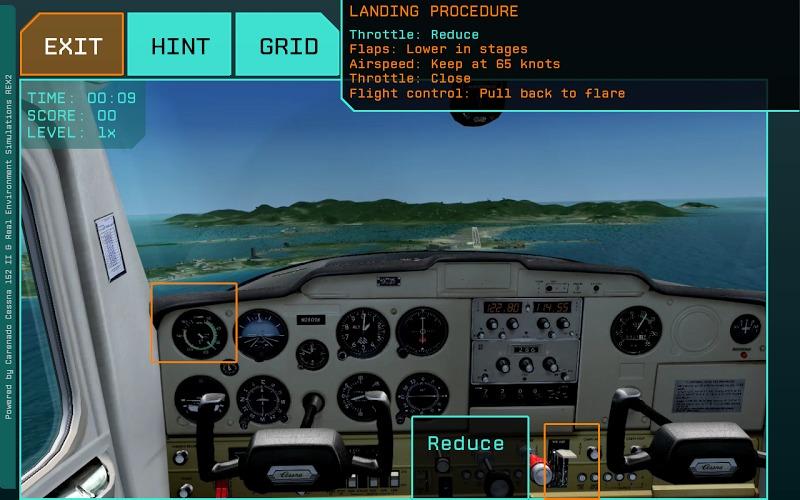 模拟飞机驾驶舱游戏_舱
