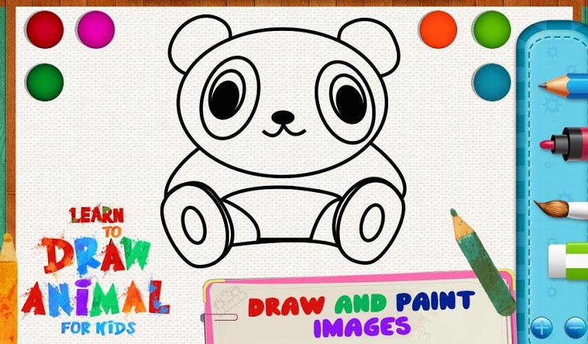 学画画动物为孩子v1.0.0好玩吗?怎么玩?