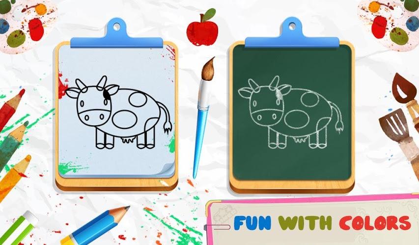 怎么玩?学画画动物为v