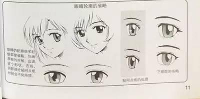 何画一只美丽的二次元大眼睛