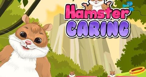 我可爱的宠物有爱心的游戏和可爱的仓鼠游戏很好玩!