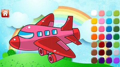 飞机填色电脑版_飞机填色电脑版安卓模拟器