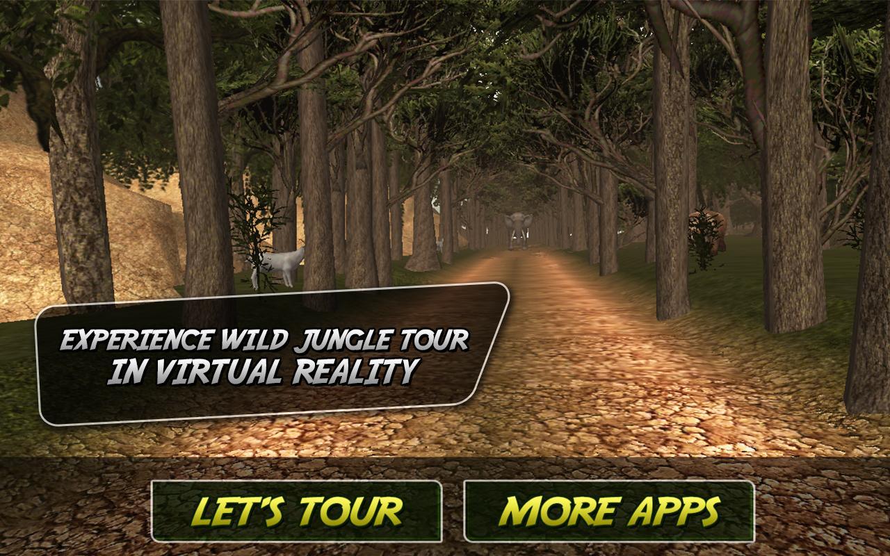 野生丛林之旅虚拟现实 - 动物游戏介绍