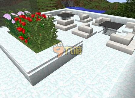 我的世界别墅水池