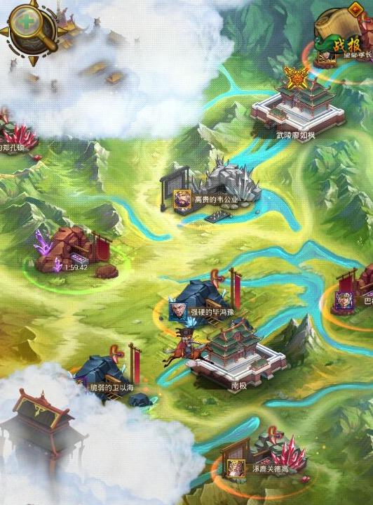 《三国志英雄联盟》攻略世界地图技巧