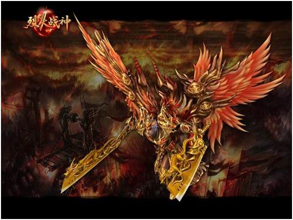 稀有装备,永久翅膀,更能获得直升一级道具——金蚕王