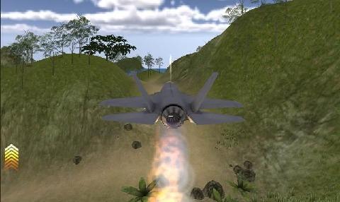 喷气式飞机模拟游戏截图