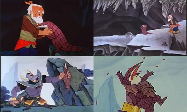 葫芦兄弟》的小伙伴们,你们还记得为了掩护二娃和爷爷逃跑,而惨死蝎子