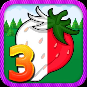 可爱水果logo设计