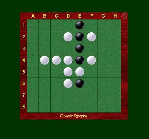 经典的黑白棋