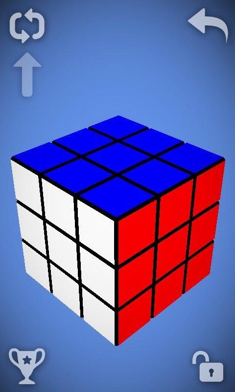 魔方最后四个角图解