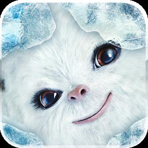 雪球仓鼠晚安手绘