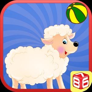 卡通可爱绵羊头像