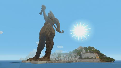 众神来袭 我的世界 推出希腊神话人物皮肤包图片