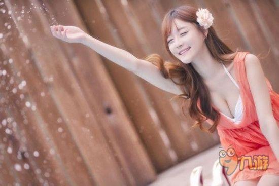 斗鱼tv韩国女主播崔瑟琪性感爆乳写真