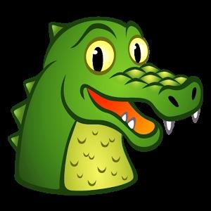 手机壁纸小鳄鱼卡通