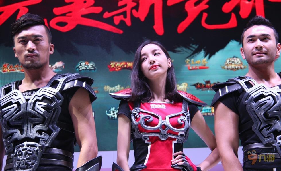 完美showgirl照片全集 2015ChinaJoy完美世界